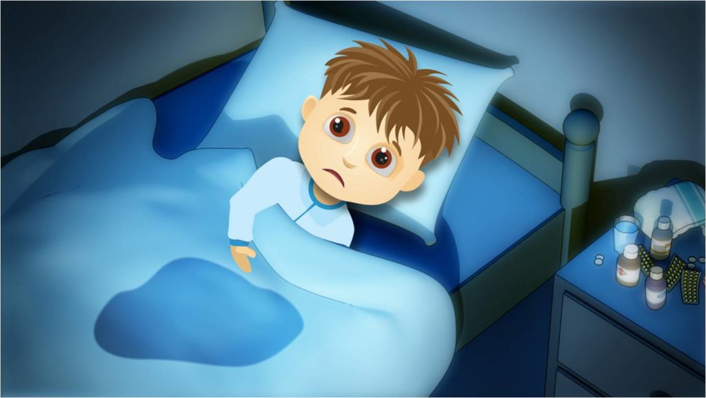 Bedwetting Child and B12