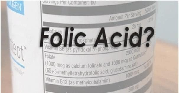 Folic Acid - Why You Should Avoid it With an MTHFR Mutation - MTHFR