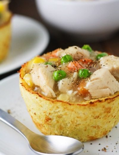 Cauliflower Pot Pies