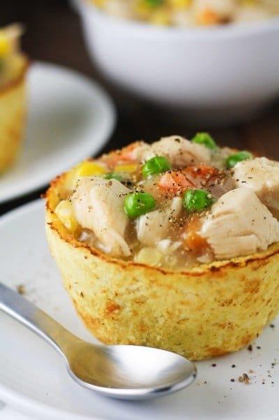 Cauliflower Pot Pies