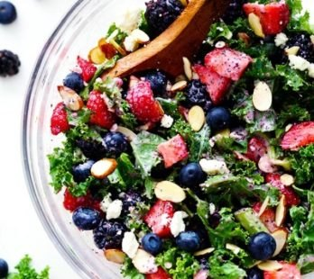 Berry Kale Salad