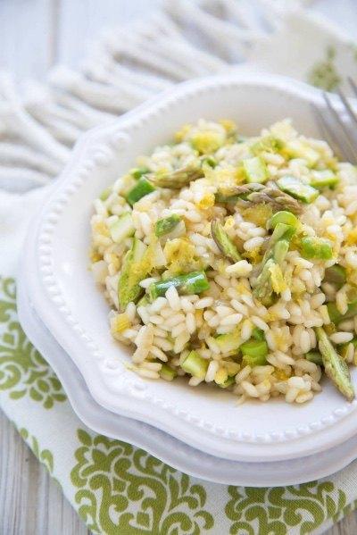 Asparagus Lemon Risotto