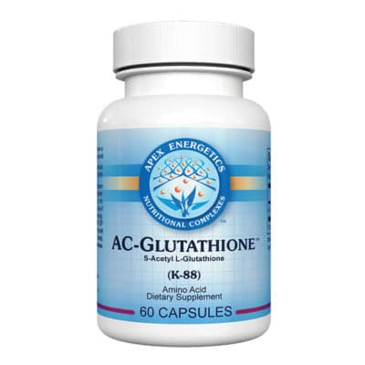 Glutathione 60 capsules MTHFR Doctors