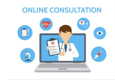 Online Consultation Ilustration