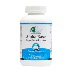Alpha Base Capsules w/ Iron