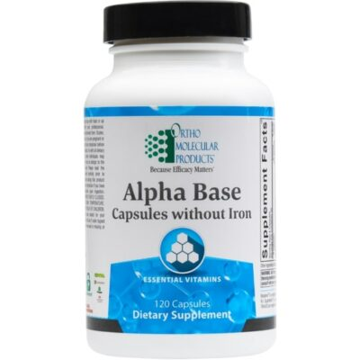 Alpha Base Capsules without Iron