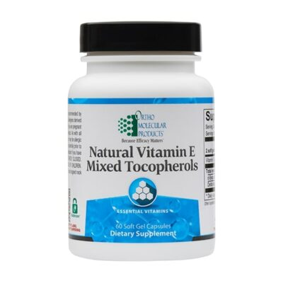 Natural Vitamin E Mixed Tocopherols